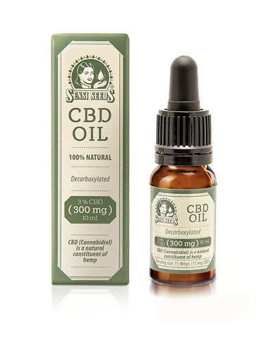 ACEITE DE CAÑAMO 3% CBD (300mg) SENSI SEEDS 10ML