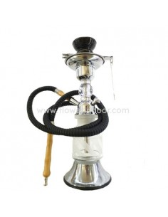 SHISHA DIAMOND BASE LED 32CM.