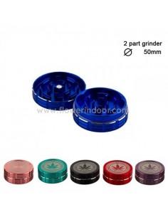 grinder 50 mm 2 partes aluminio