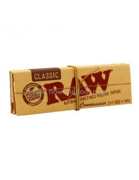 Papel Raw Connoisseur 1 1/4 Classic