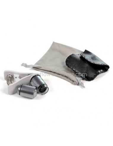 Microscopio 60x con clip