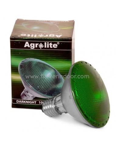 Bombilla Agrolite Luz Verde