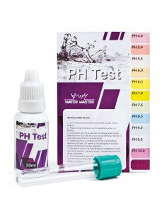 MEDIDOR KIT TEST PH WATER MASTER REACTIVO