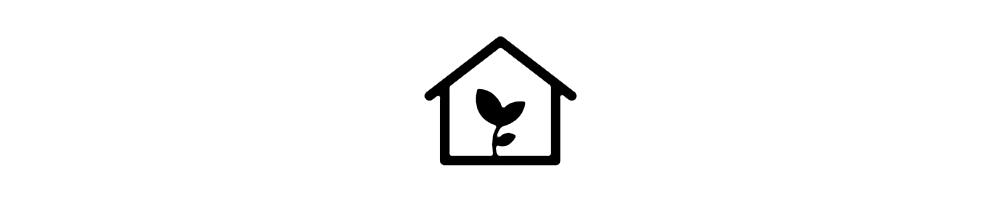 Invernaderos y armarios de cultivo.