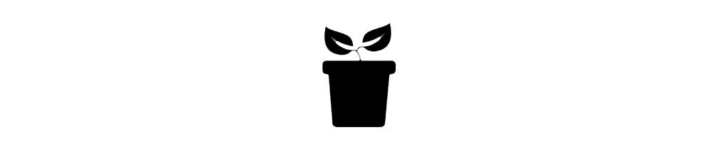 Macetas y bandejas para horticultura