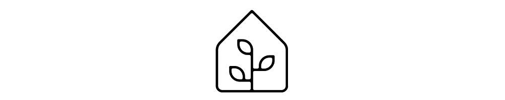 Invernaderos para el cultivo de las plantas.