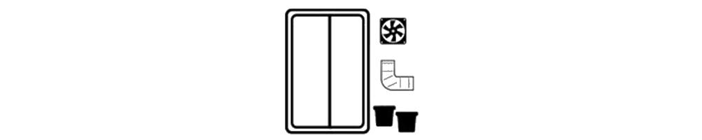 Kits de Cultivo Indoor con todo lo necesario para cultivar en interior