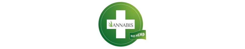 Productos terapéuticos a base de cáñamo de Annabis